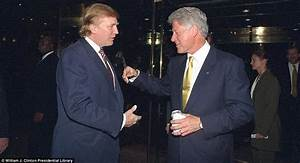 Donald Trump And Bill Clinton Picked In Old Photographs