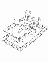 Coloring Table Coffee Pages Modern Drawing Printable Adult Getcoloringpages Popular Cup sketch template