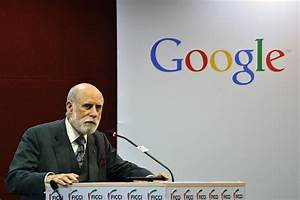 The Father Of The Internet Sees His Invention Reflected ...