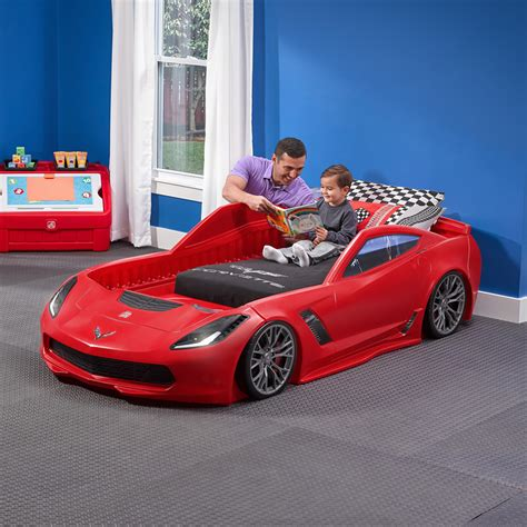 Corvette Z06 Toddler To Twin Bed  Kids Bed Step2