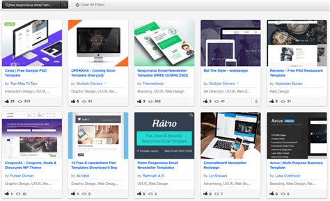 free responsive email templates 900 free responsive email templates to help you start with email design