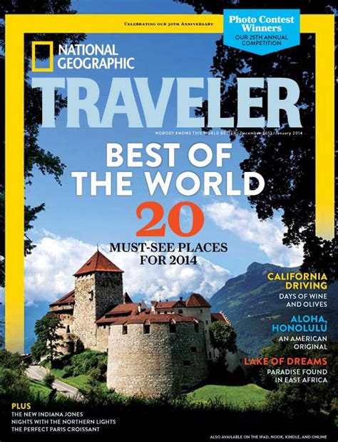 2014 National Geographic Travelers Best Of The World