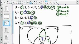 Mat120 Unit 4 Construct Venn Diagram Three Sets
