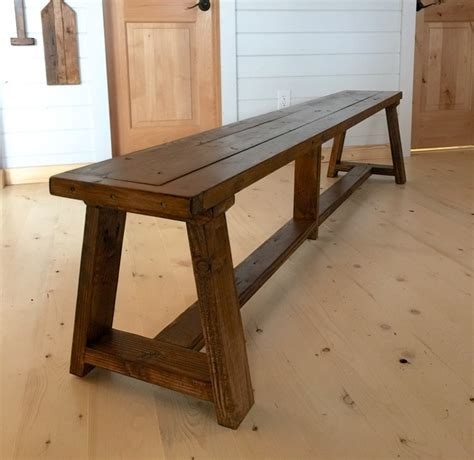 ana white  truss benches  alaska lake cabin diy projects