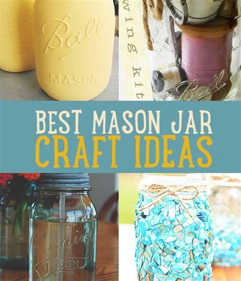 Craft Ideas with Mason Jars