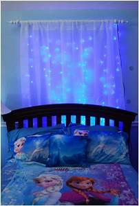 Rideau Reine Des Neiges : 10 frozen movie inspired kids 39 room decor ideas ~ Dailycaller-alerts.com Idées de Décoration