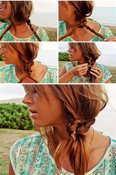 ultra chic beach hairstyles  pretty girls