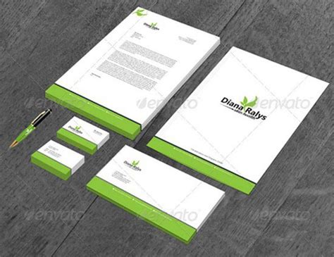 20 Letterhead Templates & Mockups That Will Save You Time Sample Business Letterhead With Logo Letters Journal German For Enquiry Card Design Envato Letter Notification New Microsoft Word