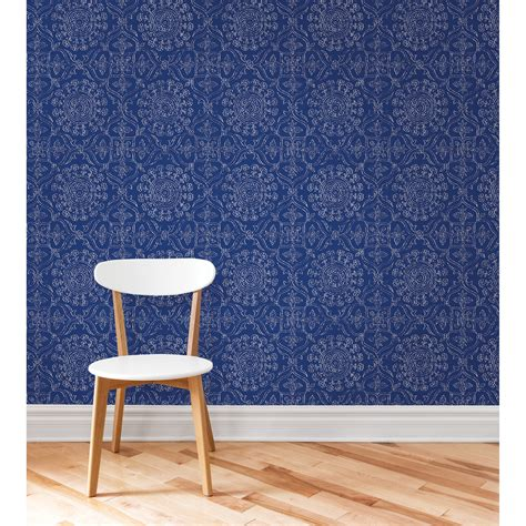 Brewster Byzantine Peel And Stick Wallpaper  Wallpaper At