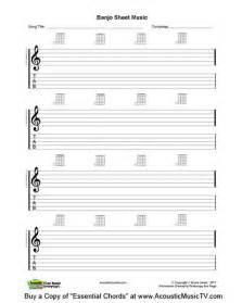 Printable Blank Guitar Sheet Music