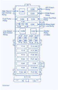 Ford Taurus 3 0 2003 Fuse Box  Block Circuit Breaker Diagram