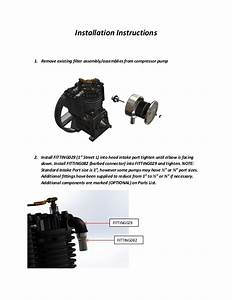 Intake Noise Suppressor Installation Manual By Eaton