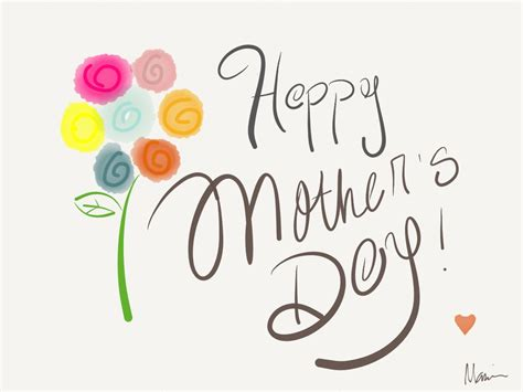 happy mothers day drawing  getdrawings