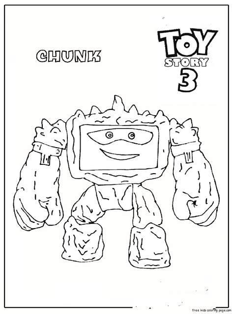 Toy Story 3 Coloring Pages Eskayalitim