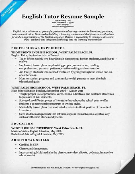 Tutor Resume Sle by Stop Homework Gt Quot I Banned My Child From Doing