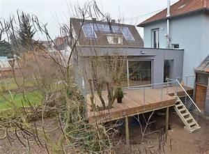 jardin en pente terrasse pilotis recherche google With escalier jardin en pente 19 renovation dune maison bourgeoise