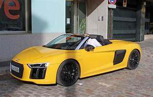 Spyshots: 2017 Audi R8 Spyder Completely Revealed in Vegas ...