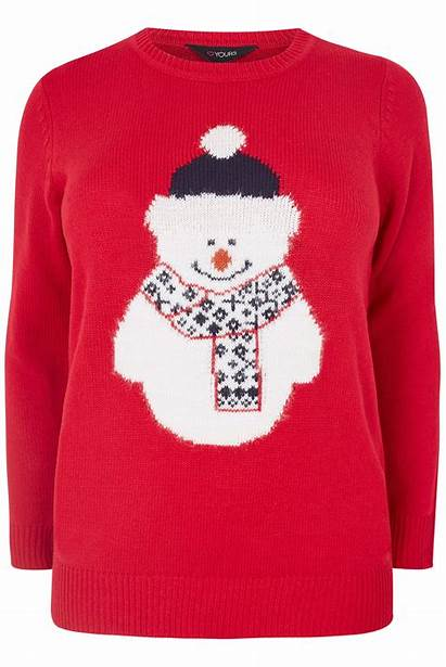 Jumper Christmas Snowman Plus Jumpers