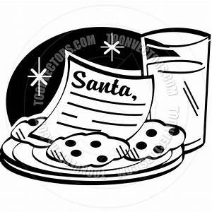 Christmas Cookies And Milk Clip Art (73+)