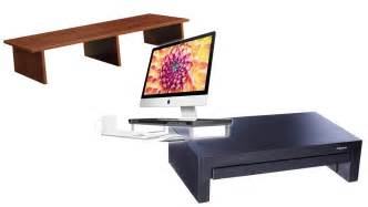 computer monitor stands for desk top 10 best monitor desk risers 2017 your easy buying