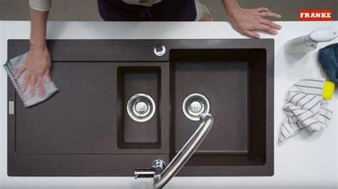 how to clean composite sink kitchen cleaning a composite sink home design ideas and pictures