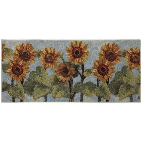 sunflower kitchen mat sunflower kitchen rug roselawnlutheran 2611