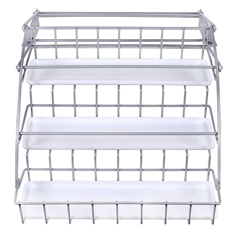 rubbermaid pull spice rack rubbermaid fg8020rdwht pull spice rack white ebay