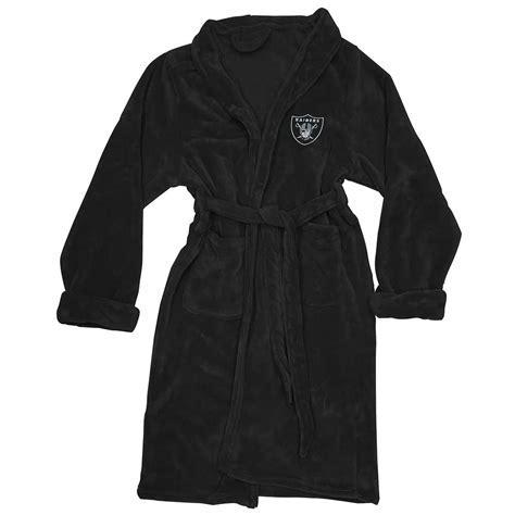 Raiders Silk Touch Black Robe