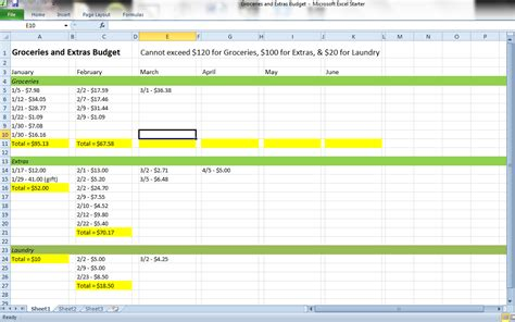 track   monthly expenses