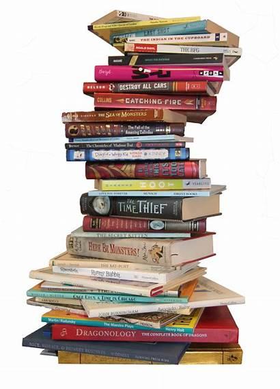 Stack Books Transparent Children Livres Clip Wish