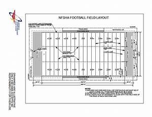 High School Football Field Diagram Dimensions