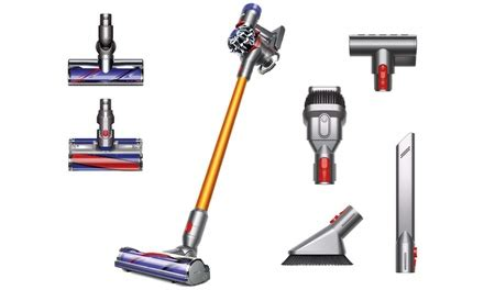 up to 47 on dyson v8 absolute stick vacuum groupon