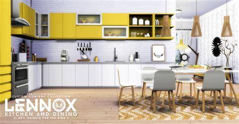 Kitchen Design Ideas Set 2 by Simsational Designs Lennox Kitchen And Dining Set