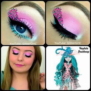 Makeup Monster High - Mugeek Vidalondon