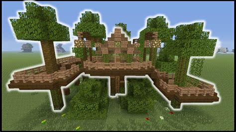 minecraft tutorial     jungle tree house biome house youtube