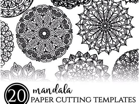 mandala paper cutting template 20 mandala paper cutting templates printable paper