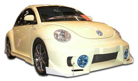 volkswagen beetle trunk in front 2000 volkswagen beetle fiberglass front bumper body kit