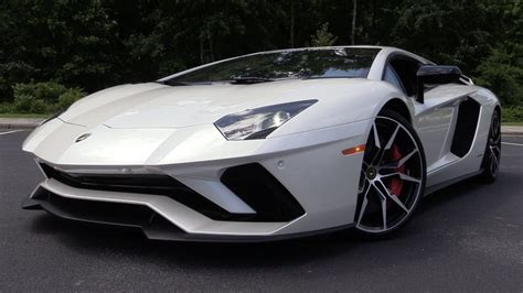 Lamborghini Aventador 2017 by 2017 Lamborghini Aventador S Start Up Road Test In