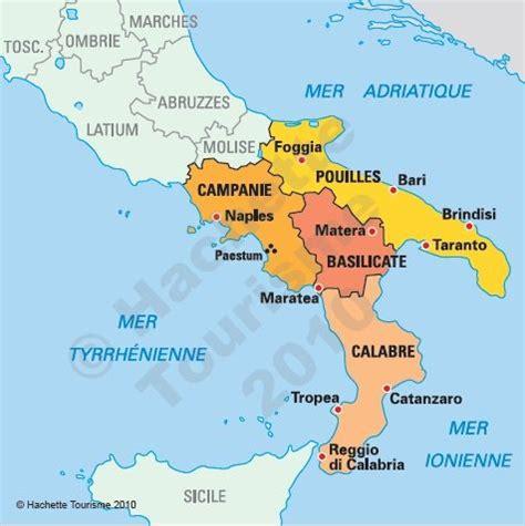 Carte Sud De Et Italie by Carte De L Italie Du Sud Photo Du Monde