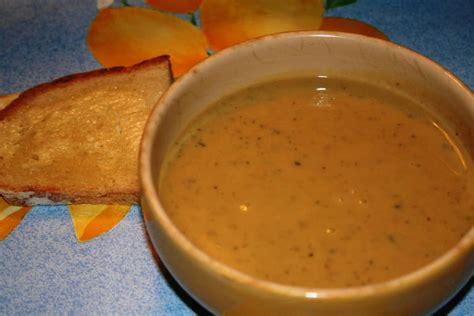 recette de soupe de chataignes  potiron