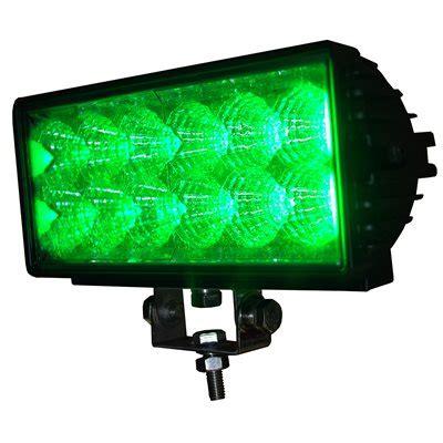 green led light bar road light bar 12 green led row 36w 2700