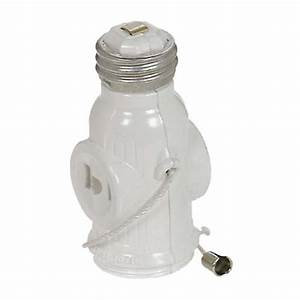 Receptacle screw in adapter light socket legal