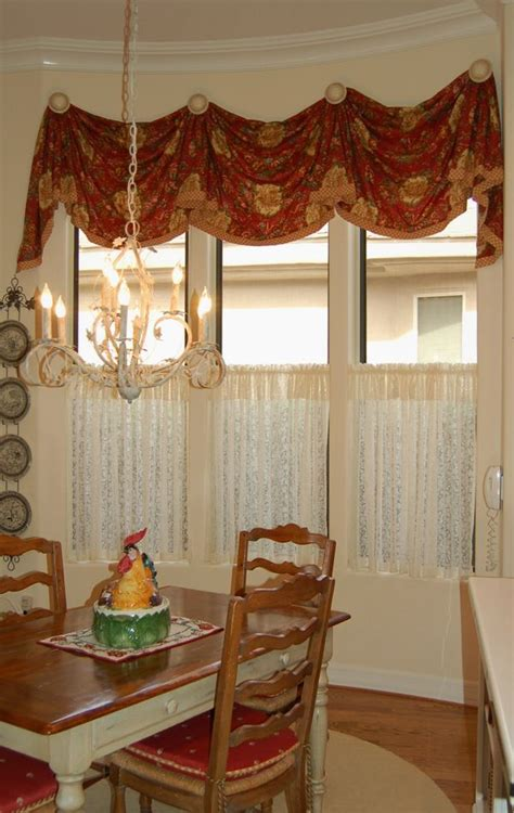Kitchen Curtains Valances by Kitchen Valance With Caf 233 Curtain Home Decoration Diy
