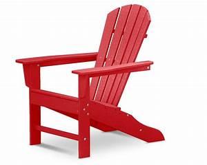 Adirondack Chair Kunststoff : polywood adirondack chair liegestuhl mit fussteil rot casa bruno ceiling fans outdoor ~ Frokenaadalensverden.com Haus und Dekorationen