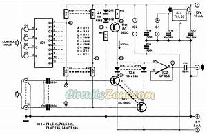 Digital Audio Selector Switch Circuit  U00bb Circuitszone Com