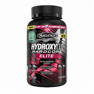 Muscletech Hydroxycut Hardcore Elite Thermogenic Fat Burner