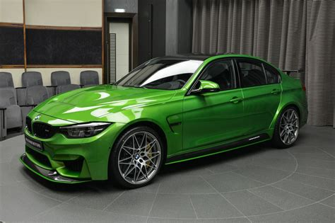 Bmw Parts by Java Green Bmw M3 With M Performance Parts Arrives In Abu