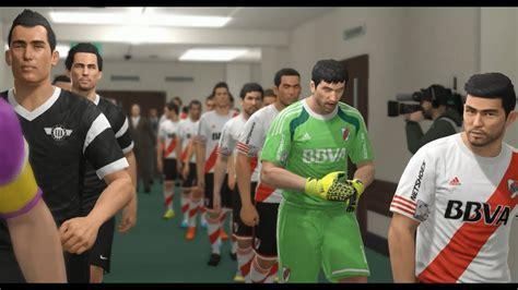 River Plate vs Club Libertad PES 2016 - YouTube
