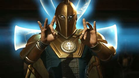 injustice  doctor fate gameplay reveal trailer p