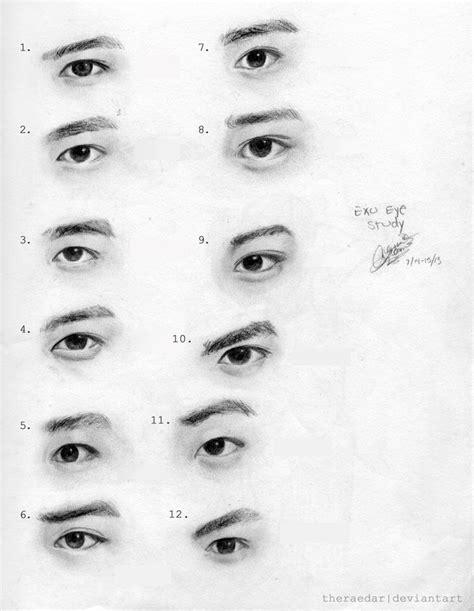 como dibujar ojos asiaticos   draw asian eyes